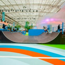 Минирампа в Гостином Дворе Москва