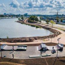Скейт парк в Ивановском карьере