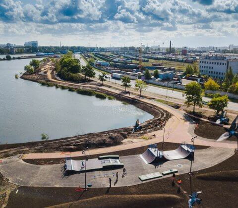 Скейт парк Ивановский карьер: фото