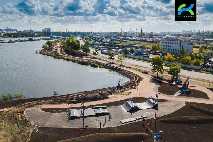 Скейт парк Ивановский карьер на Ломоносовской