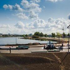 Скейт парк на Ломоносовской