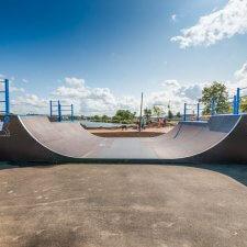 Скейт парк в Невском районе Санкт-Петербурга