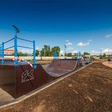 Скейт парк в Невском районе
