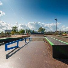 Новый скейт парк в Санкт-Петербурге