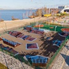 Скейт парк на дамбе Воронеж