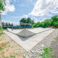Бетонный скейт парк в Лосино-Петровском