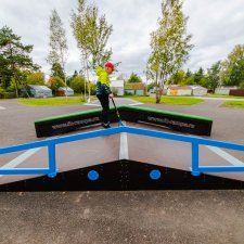 Скейт парк в поселке Пригородный