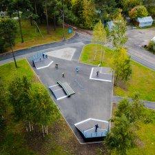 Новый скейт парк в Парголово