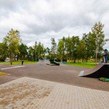 Скейт парк в Парголово в Санкт-Петербурге
