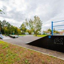 Скейт парк в Парголово: фото