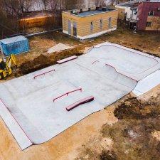 Бетонный скейт парк в Сормовском районе