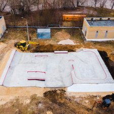 Бетонный скейт парк в Нижнем Новгороде