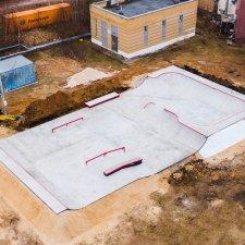 Бетонный скейт парк в Сормово