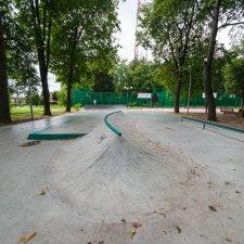 Бетонный скейт парк
