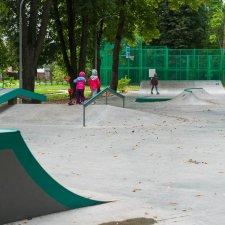 Скейт парк в Звенигороде