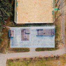 Скейт парк в Орле: вид сверху