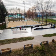 Скейт парк в Орле: фото