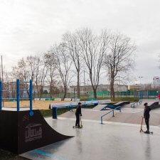 Новый скейт парк в Орле