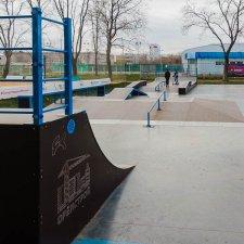 Скейт парк в Орловской области