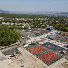 Спортивная площадка в поселке Иноземцево