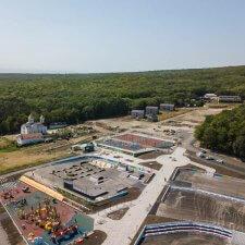 Скейт парк на Комсомольской поляне