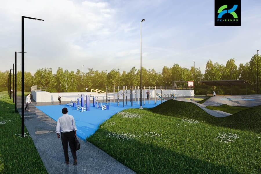 Концепция общественного пространства в Буграх