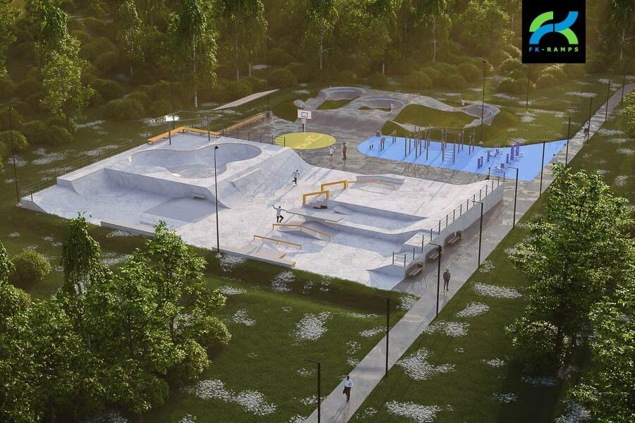Концепция спортивного кластера в Буграх
