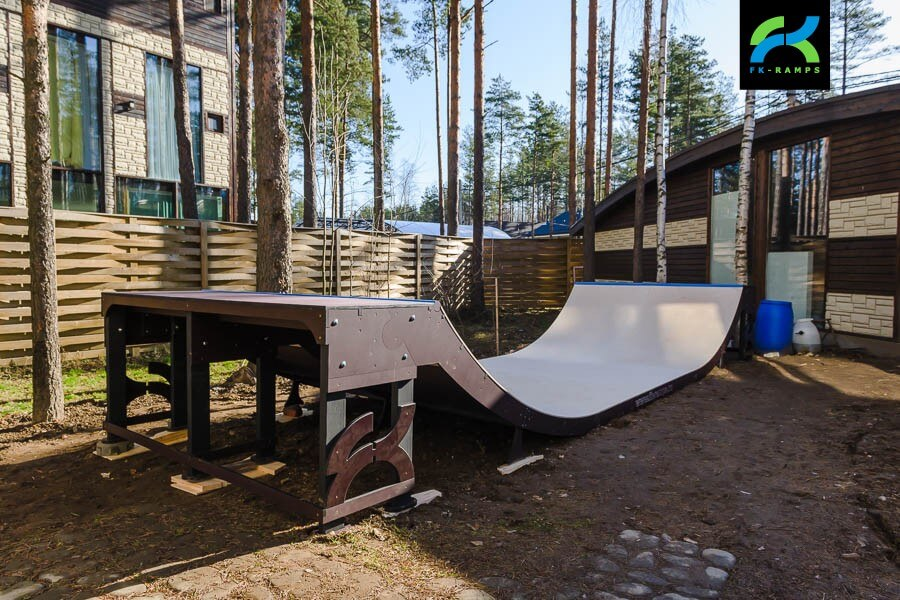 как построить рампу на даче