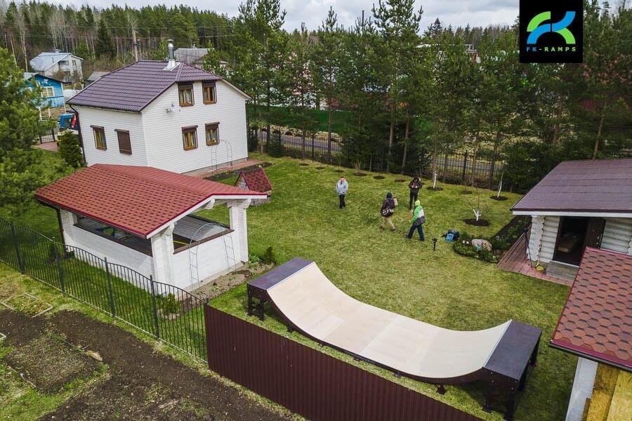 Мини рампа для загородного дома