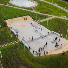 Бетонный скейт парк в Тольятти