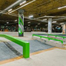 Бетонный скейт парк МЕГА-Екатеринбург