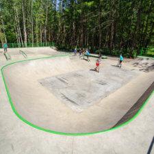 Бетонный скейт парк в Вязниках