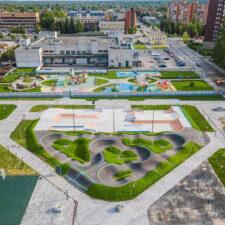 Скейт парк и памп трек в Тосно