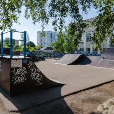 Скейт парк в Смоленске