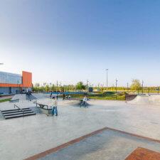 Скейтпарк и памптрек МЕГА-Нижний Новгород