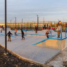 Бетонный скейт парк в Сызрани