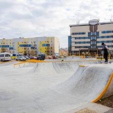 Бетонный скейт парк в Нефтеюганске