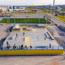 Бетонный скейтпарк в МЕГА-Самара