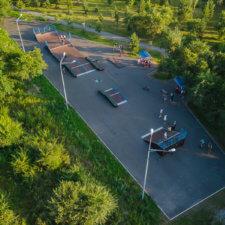 Скейт парк в Абакане