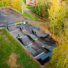 Скейт парк в Кузьмолово
