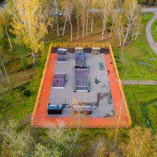 Скейт парк в Молодежном СПб