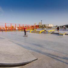 Скейт парк в Старом Осколе