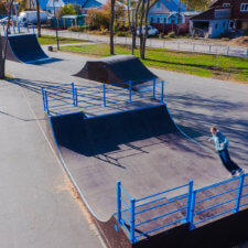 Скейтпарк в посёлке Зубчаниновка Самара