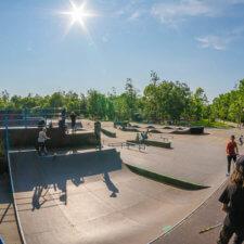 Скейт парк в Артеме (Владивосток)