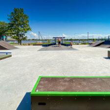 Скейт парк в Новой Ладоге