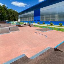 Скейтпарк в Калининграде (АВТОТОР-Арена)