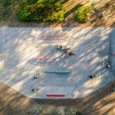 Бетонный скейтпарк в Нерехте
