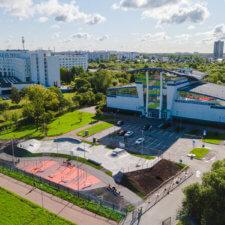 Бетонный скейтпарк пр.Ветеранов 58