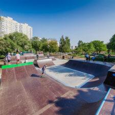 Экстрим-кластер FK-ramps в Царицыно (Москва)