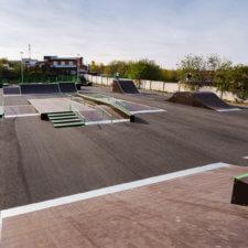 Скейт парк и памп трек FK-ramps в Краснотурьинске